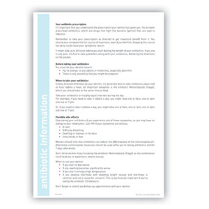 Antibiotic Information